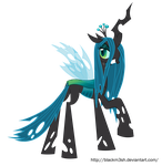 Queen Chrysalis by Blackm3sh