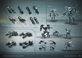 Mechanical Concept Design by KM33