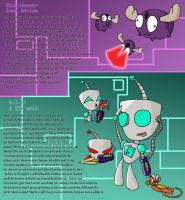 IZ-20 Years Later Gir and Minimoose by Piddies0709
