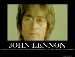 Lennon's murder as hate crime against Humanism. by Flaherty56