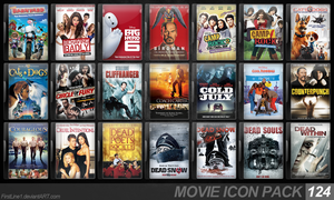 Movie Icon Pack 124 by FirstLine1