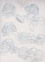 Alroy Sketches by IrishBecky