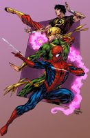 Spidey Thursday 33 Logic color by SpiderGuile