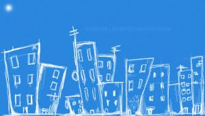 Cityscape psp wallpaper by thereelman