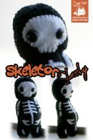 Skeleton Slouchy by cleody