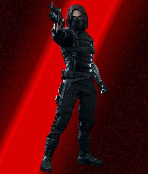 Epic Bucky by Ravenheart79