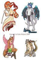 FC Full Body Badges 2009 by KatieHofgard