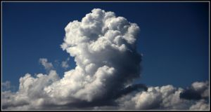 Cumulonimbus by FlamingAvocado