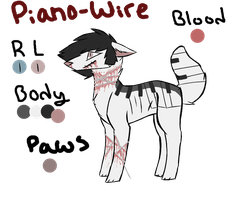 PianoWire Rose Clark Ref. by Landa-Wolf