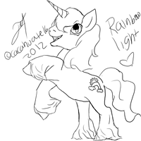MLP lineart 001 by cacahuate16