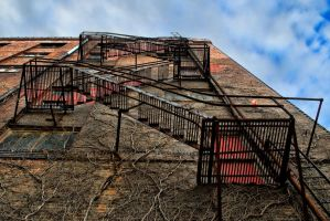 Fire Escape by smellyfeet2015