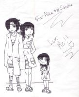 Uchiha Children by ArdeOnodera101