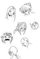 Heads by LadyProphet