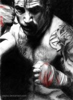Warrior - Tom Hardy by eajna