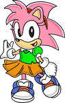 Classic Amy Rose by Tails19950