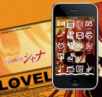 Shakugan no SHANA for iPhone by hohodigidea