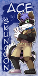 Commission - Ace Badge by raizy