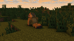 Minecraft Meerkat Background by shadow21812