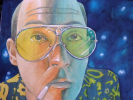 Hunter S Thompson _ Dep by Agreus