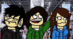 MCM Expo With Friends X3 by TickingGears