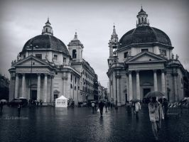 Rain in Rome by AirInMotion