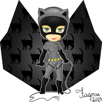 CatWoman - Mulher-Gato by Fagner1994