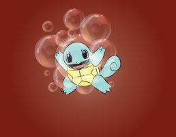 Squirtle use Bubble! by mca2008