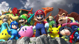 Smash Bros. Background by energyman2289