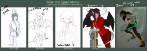 Draw This Again Meme :: 4 years by HastyLion