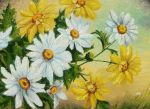 Daisies in the sky by sorinapostolescu