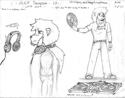 Mixx'd - Alex Thompson by RadioRaccoon