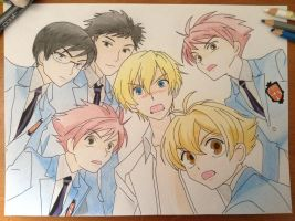 Ouran High School Host Club by TheSassyFox