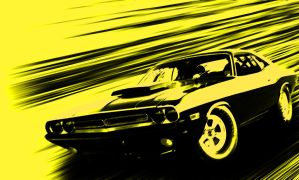Muscle Car by VinceGFX