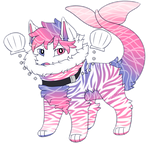 Ocean Sunrise Zebra Puplink Auction :CLOSED: by xXSinnersHeavenXx