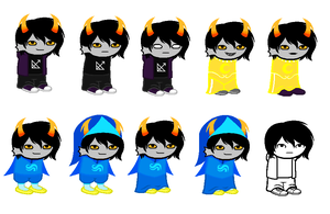 domino sprites by 1mbean