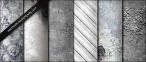 Whitewashed Grunge Textures by WebTreatsETC