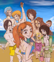 Orihime's Havin a Good Summer by RomaniaBlack
