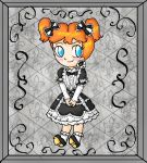 chibi gothic daisy by ninpeachlover