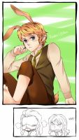 Rabbit!Bilbo by RedCAT18