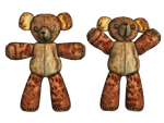 Teddy Bear PNG Stock by Roy3D