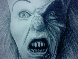 Pennywise Sketch by mikegee777