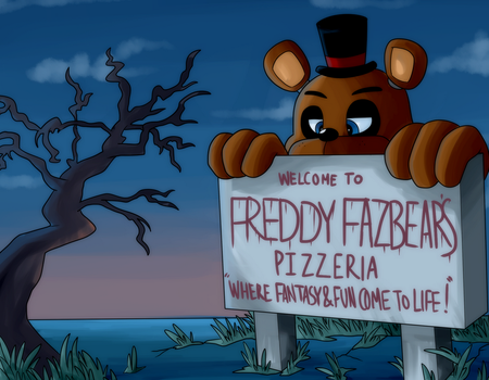 One Day at Freddy's by itsaaudra