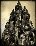 The spire Of St Giles by Estruda