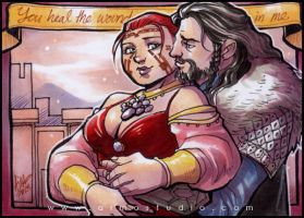 PSC - Lady Aeducan and Thorin Oakenshield by aimo
