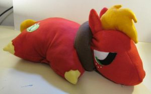 Big Macintosh Pillow Pal by Katangriel