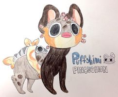 Puffshimi Pincushion by KaymeDeLynn