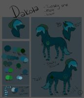 Dakota's ref :3 by Incintarea