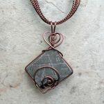 Gibeon Meteorite in Copper by magpie-poet