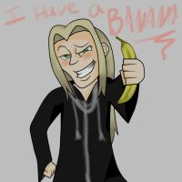 Vexen Haz a Banana by CrazyNarutoFanatic