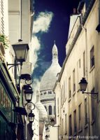Sacre Coeur by elusive-art
